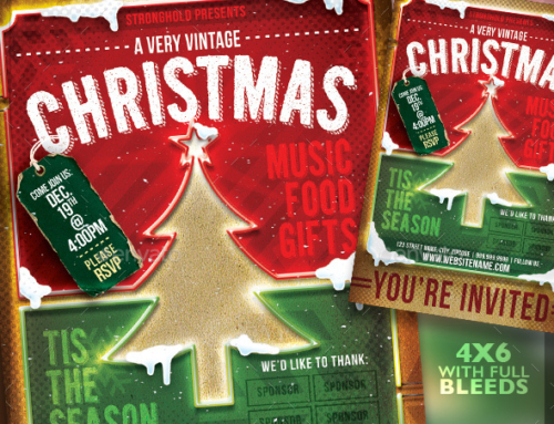 5 Christmas Flyer Templates