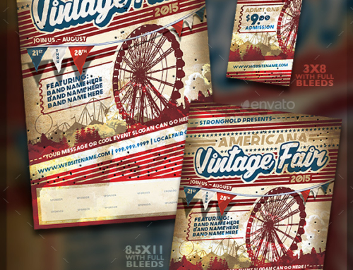 BEST CIRCUS & CARNIVAL FLYER TEMPLATES