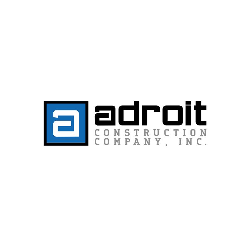 Adroit Construction Logo Design