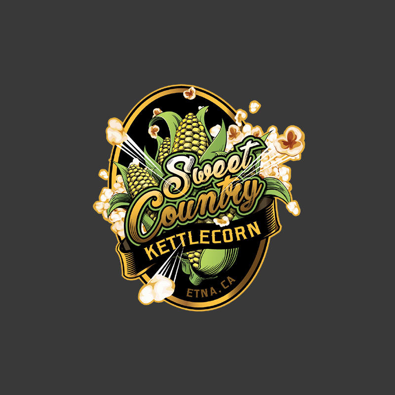 Sweet Country Kettle Corn Logo Design