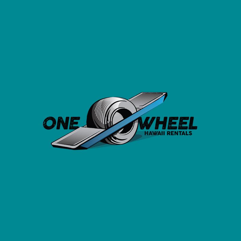 One Wheel Logo Design