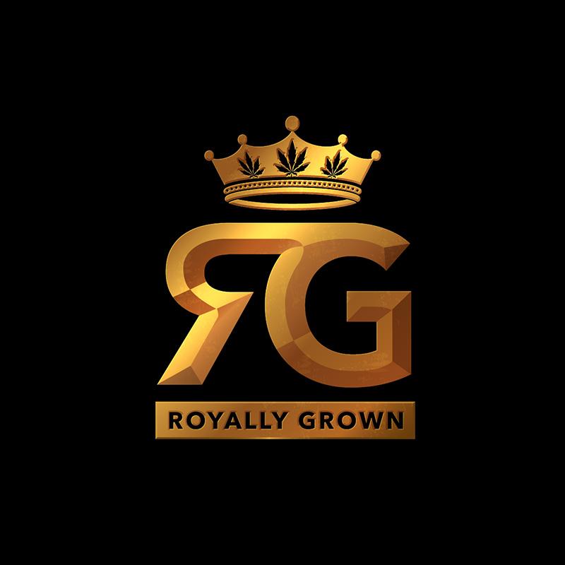 Royally Grown Logo Design