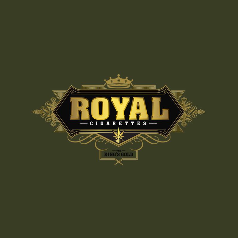Royal Hemp Cigarettes Logo Design