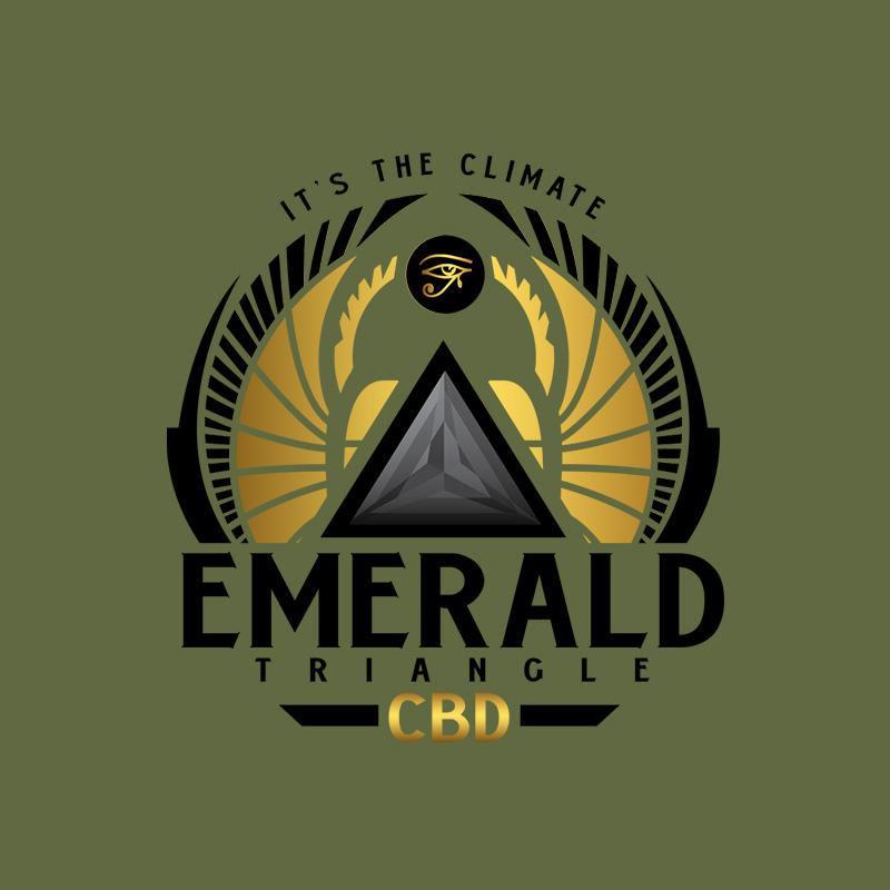Emerald Triangle Logo Design