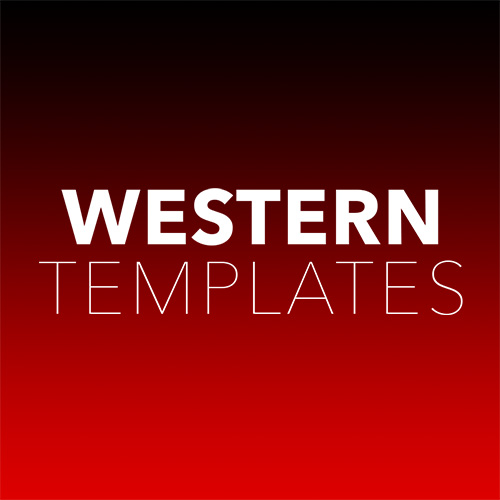 Western Templates