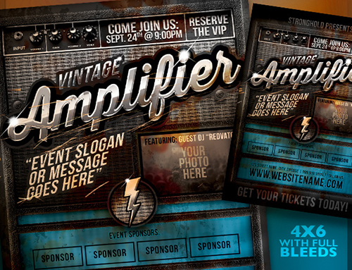 Best Selling Flyer Template – April